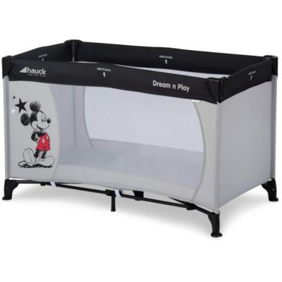 Hauck Disney Dream n Play Mickey Stars Travel Cot