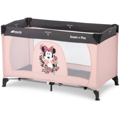 Hauck Disney Dream n Play Minnie Sweetheart Travel Cot