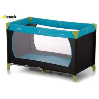 Hauck Dream n Play Water Blue Travel Cot
