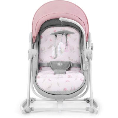 Kinderkraft Unimo 5 in 1 Cradle 2020 - Peony Rose 2