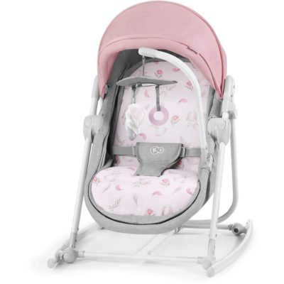 Kinderkraft Unimo 5 in 1 Cradle 2020 - Peony Rose