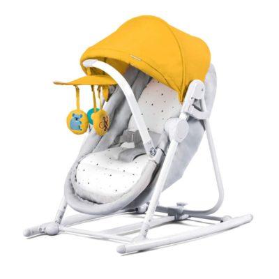 Kinderkraft Unimo 5 in 1 Cradle - Yellow 2