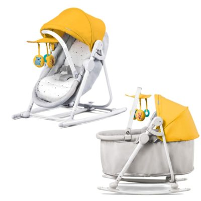Kinderkraft Unimo 5 in 1 Cradle - Yellow