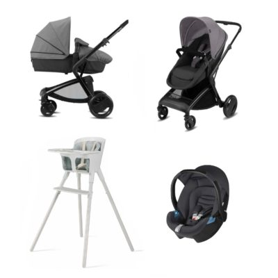 CBX Newborn Bimisi Bundle - Comfy Grey