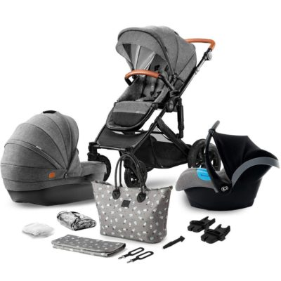 Kinderkraft Grey Prime Travel System