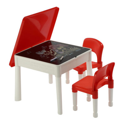 Liberty House Toys 6 in 1 Activity Table and Chairs