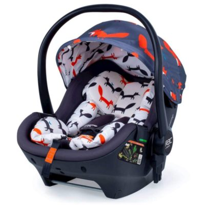 Cosatto Charcoal Mister Fox RAC Port Isize Carseat