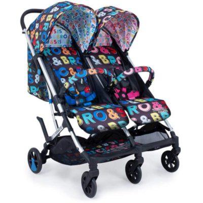 Cosatto Sis & Bro Woosh Twin Stroller