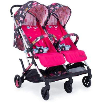 Cosatto Unicorn Land Woosh Twin Stroller