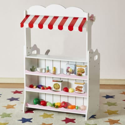 Liberty House Toys Kitchen Market Stool 2 in 1