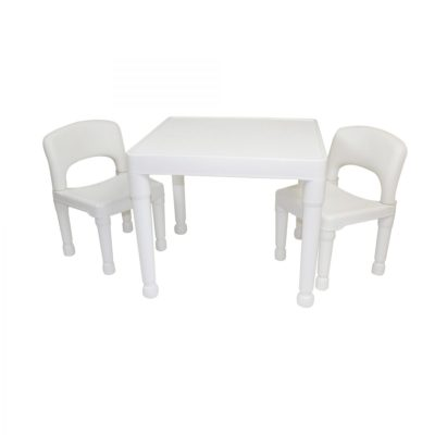 Liberty House Toys White Table and Chairs