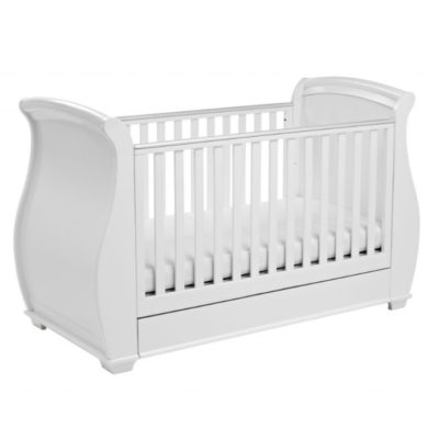 Babymore Bel 3 Piece Nursery Room Set - White