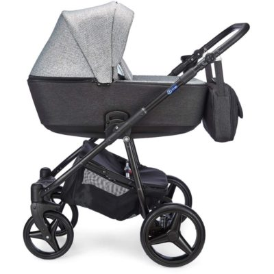 meego santino travel system pepper grey