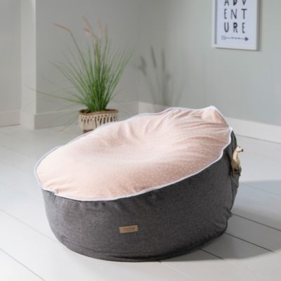 tutti bambini baby beanbag rose 2