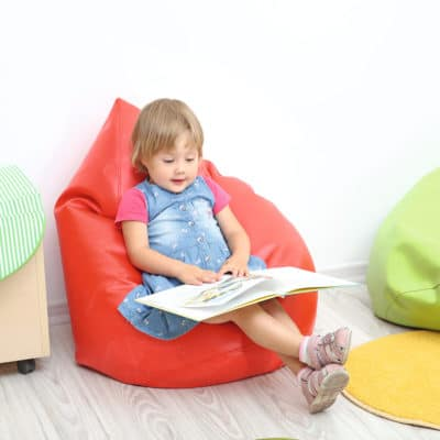Liberty House Toys Red Childrens Bean Bag