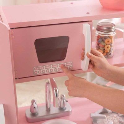 Kidkraft Vintage Pink/White Play Kitchen