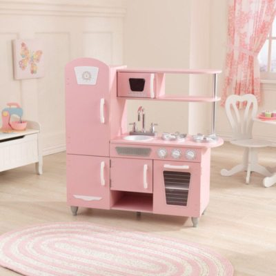 Kidkraft Pink and White Vintage Kitchen