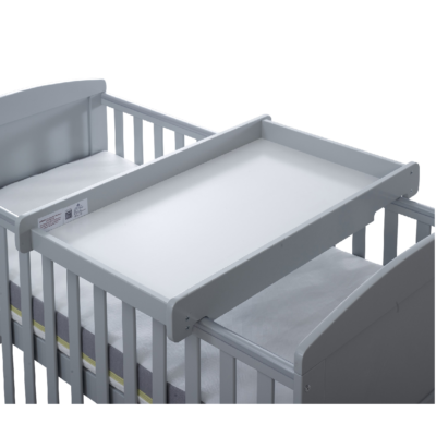Ickle Bubba Grey Cot Top Changer