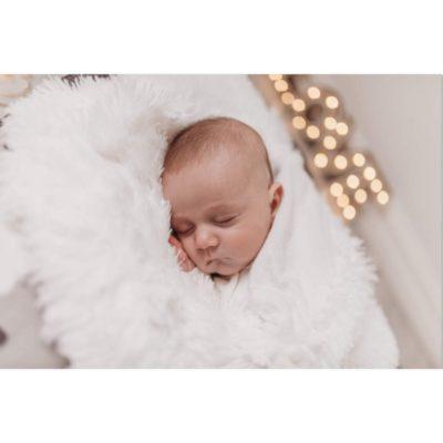 bizzi growin blanket Koochicoo white