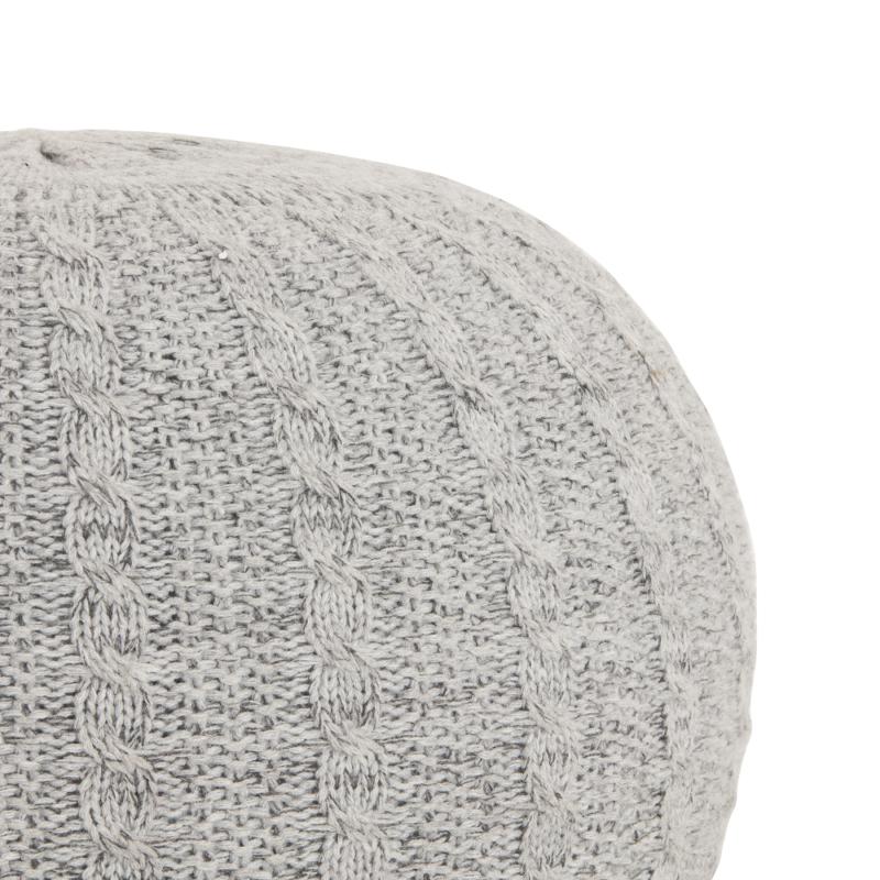 Tutti Bambini Knitted Pouffe - Pebble