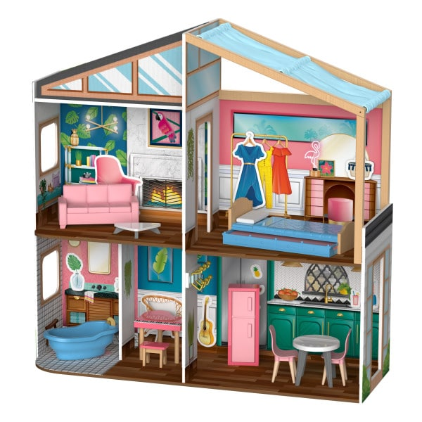 Kidkraft Magnetic Makeover Dollhouse