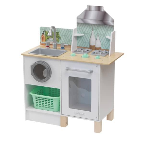 Kidkraft Whisk & Wash Kitchen & LaundryKidkraft Whisk & Wash Kitchen & Laundry