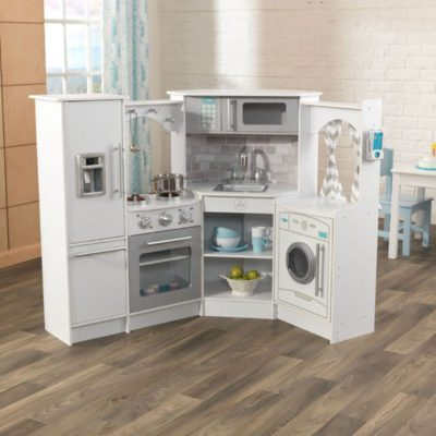 KidKraft Ultimate Corner Play Kitchen - White
