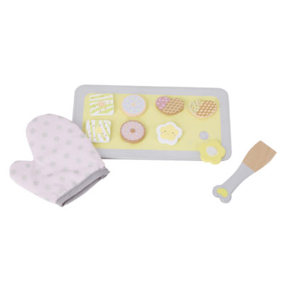 Classic World Wooden Biscuit Baking Set