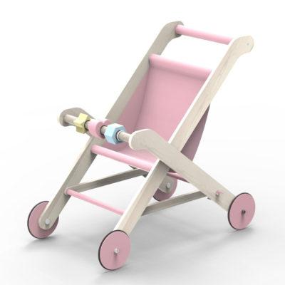 Moover DollMoover Dolls Stroller Pinks Stroller Pink