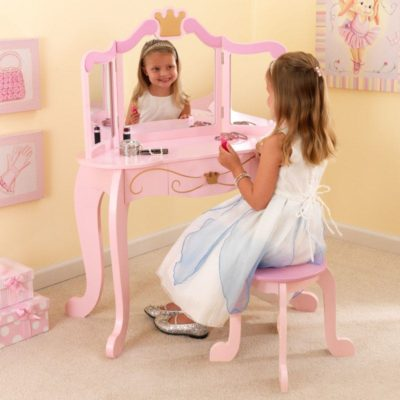 KidKraft Princess Vanity with Stool