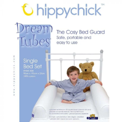 Hippychick Dream Tubes Bed Guard - Single Bed