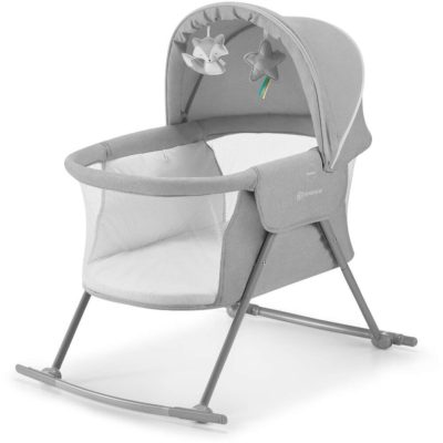 Kinderkraft Lovi 3 in 1 Crib Grey 2