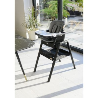 nova highchair black black