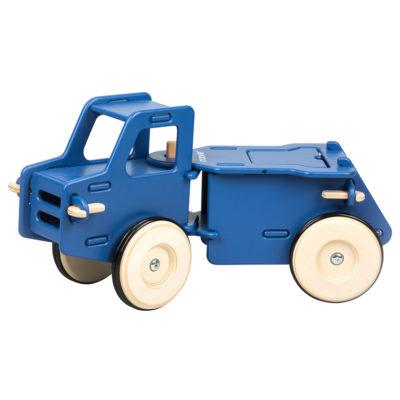 Moover Ride on Dump Truck Navy Blue