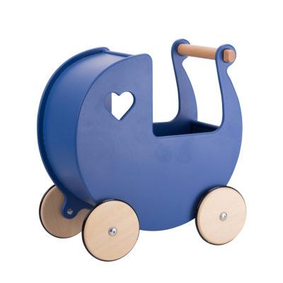 Moover Dolls Pram Navy Blue