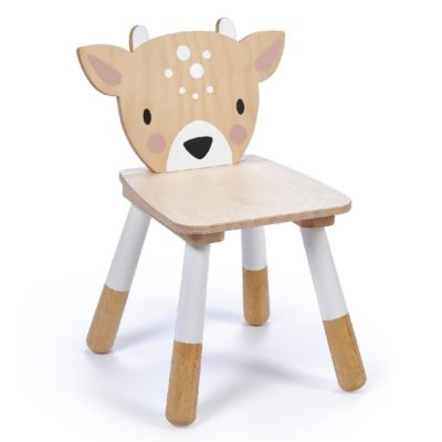 Tender Leaf Forest Deer Chair