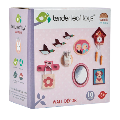 Tender Leaf Doll House Wall Decor
