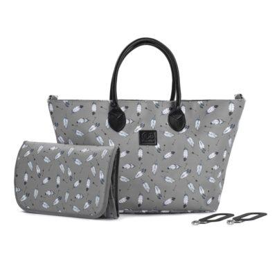 Kinderkraft Changing Bag Grey