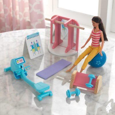 KidKraft Home Gym Dollhouse Accessory