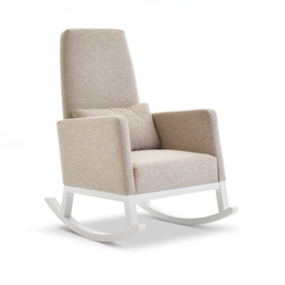 obaby high back rocking chair oatmeal