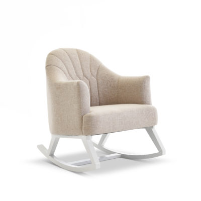 obaby round back rocking chair oatmeal