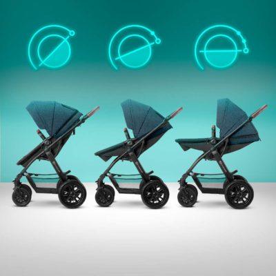 Kinderkraft XMoov Travel System - Denim