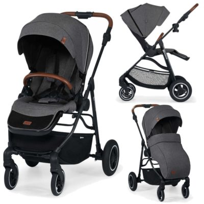 Kinderkraft Ash Grey All Road Pushchair