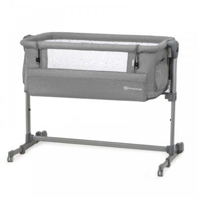 Kinderkraft Melange Grey Neste Up Bedside Crib