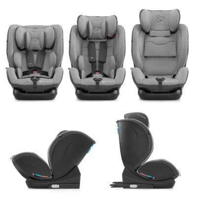 Kinderkraft MyWay Grey Isofix Car Seat