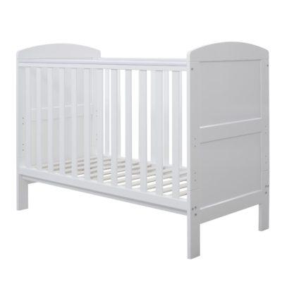 vColeby Mini Cot Bed White