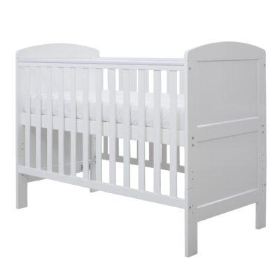 Coleby Mini Cot Bed White