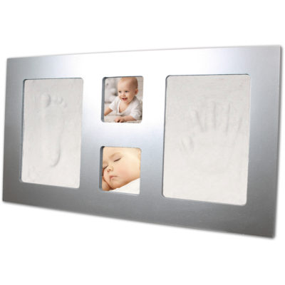 Happy Hands Silver Large Frame