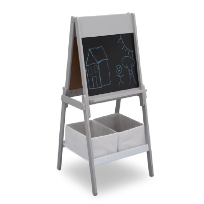 Delta MySize Grey Double Sided Storage Easel