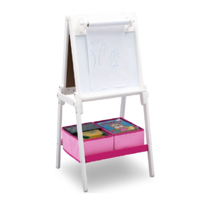 Delta MySize White Double Sided Storage Easel